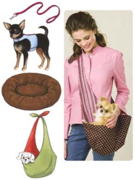 Kwik Sew Harness, Leash, Bed and Carrier Pattern