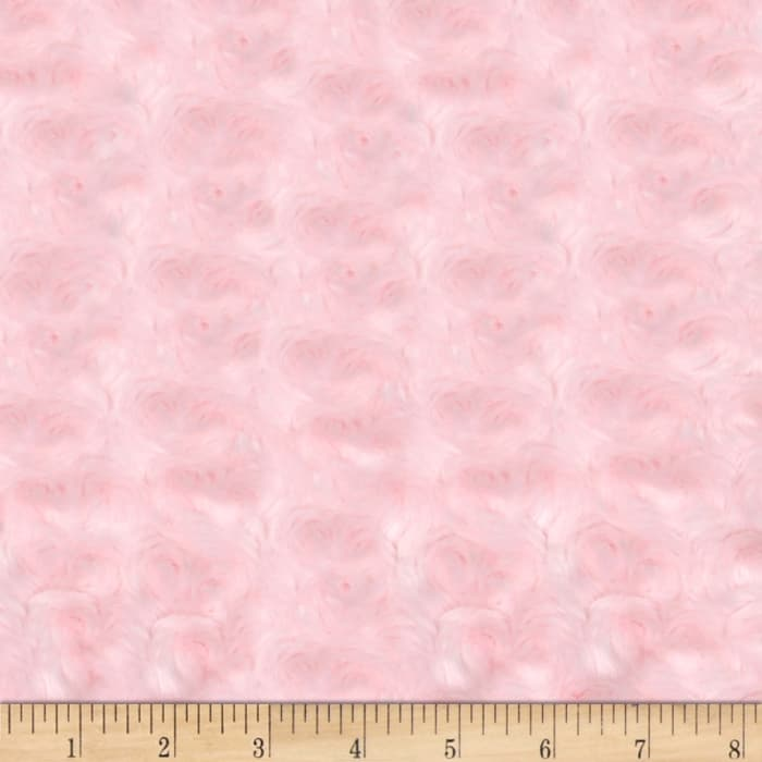 Shannon Minky Rose Cuddle Baby Pink