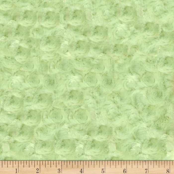 Shannon Minky Rose Cuddle Mint