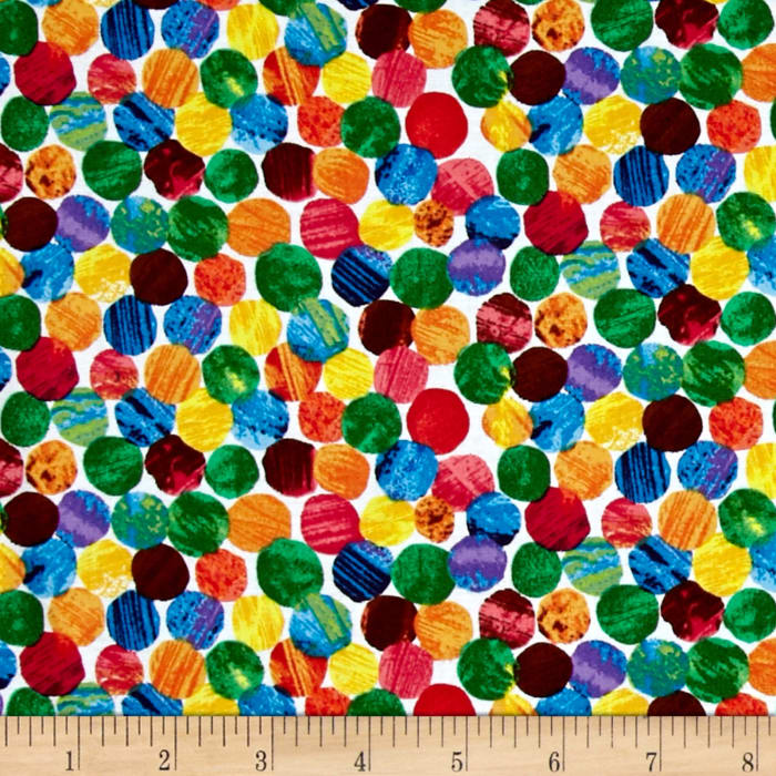 The Very Hungry Caterpillar Abstract Dots Multi