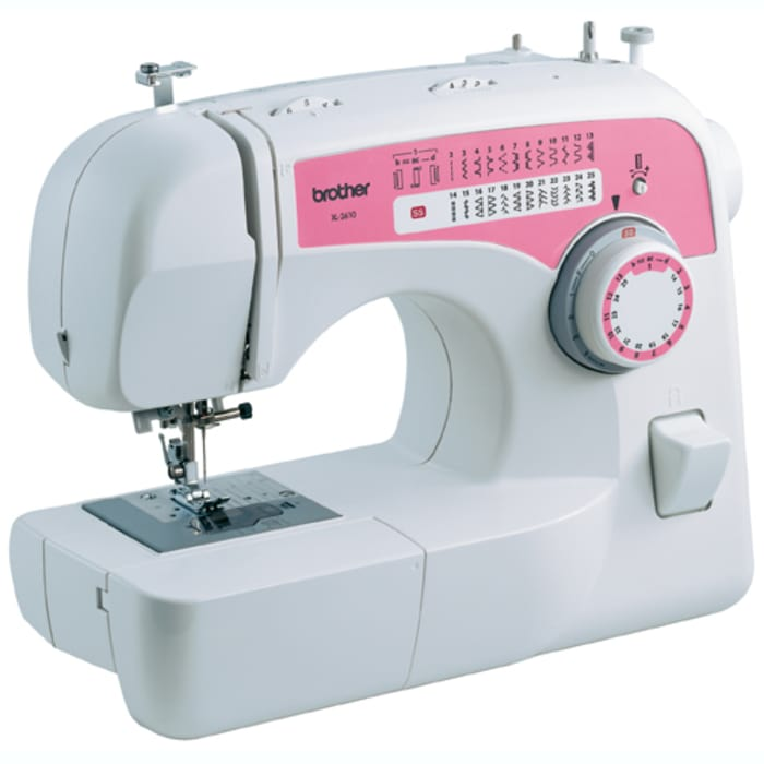 Brother XL2610 Free-Arm Sewing Machine with 25 Built-In Stitches and 59 Stitch Functions