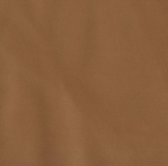 108'' Wide Nylon Tulle Antique Gold