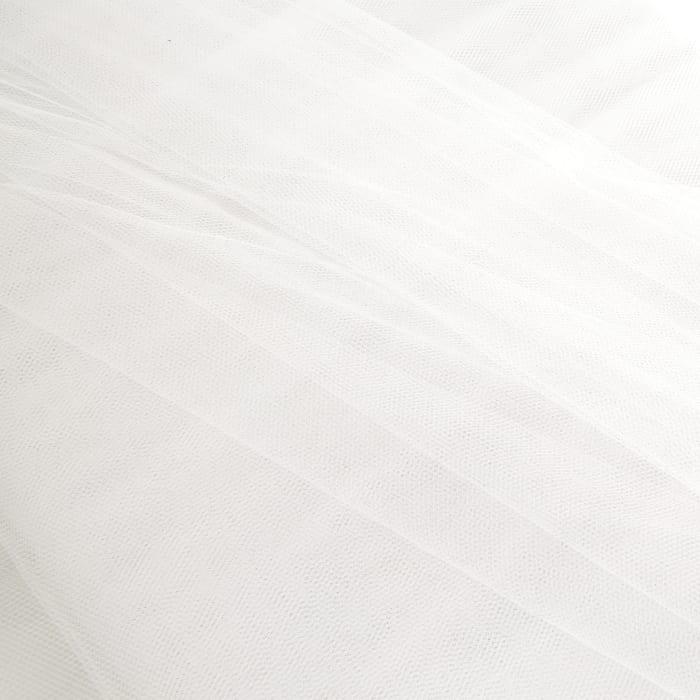 "54"" Wide Tulle Silk White"