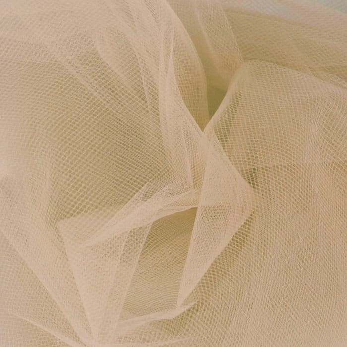108'' Wide  Nylon Tulle Beige