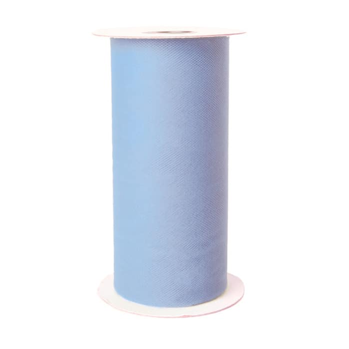 Tulle Spool Soft Blue