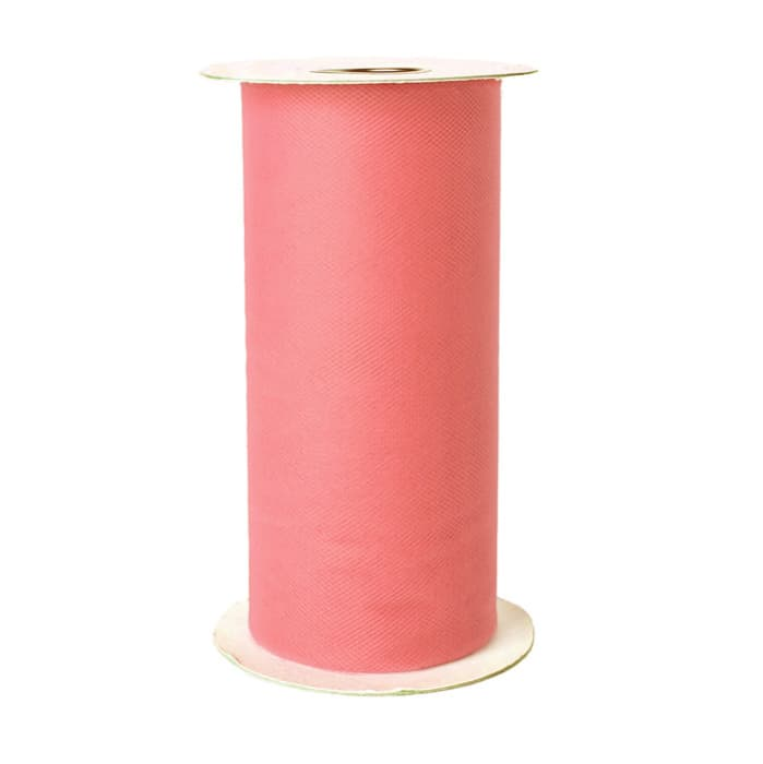 Tulle Spool Coral