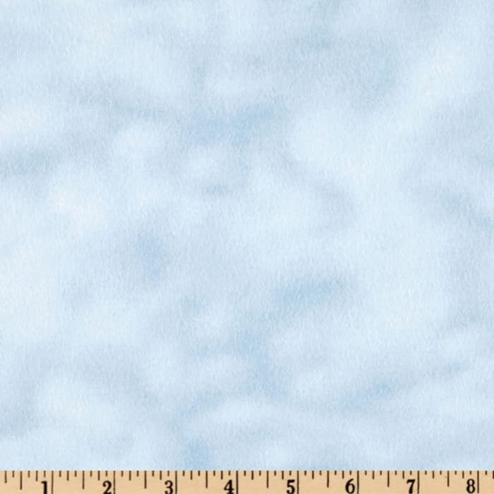 108'' Wide Mottled Flannel Blue Sky