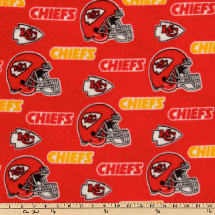 NFL Fleece Kansas City Chiefs Toss Red/Yellow