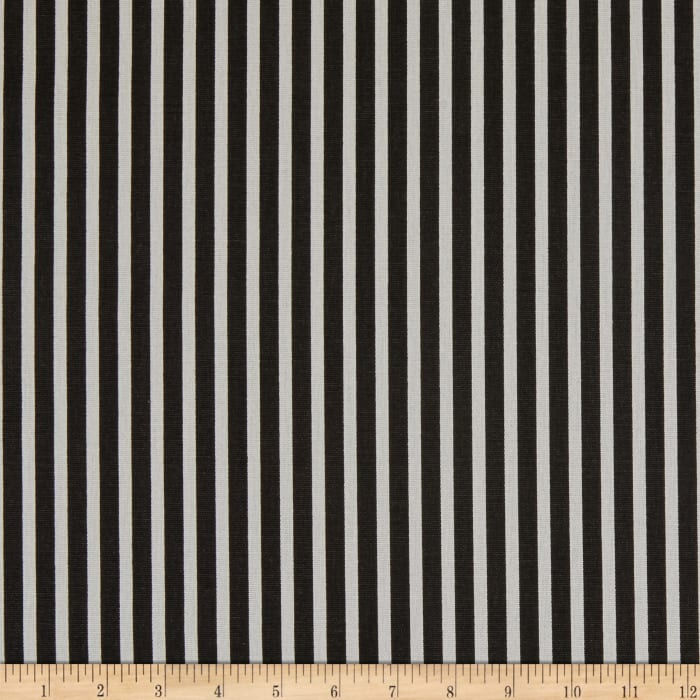 Premier Prints Carrie Stripe Black/White