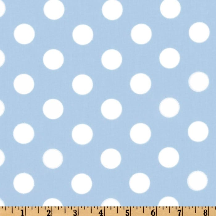 Forever Large Polka Dot Blue