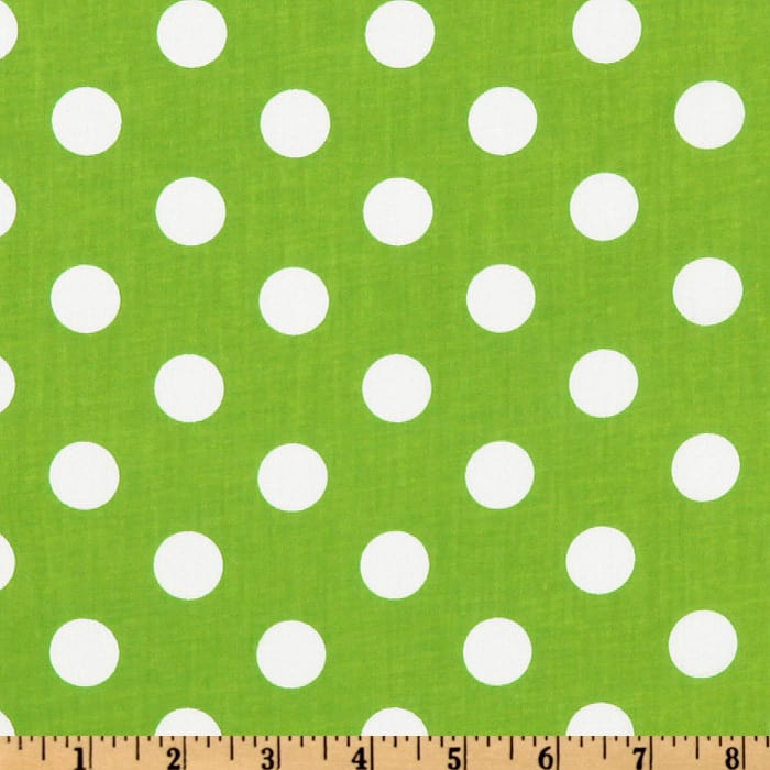 Forever Large Polka Dot Lime