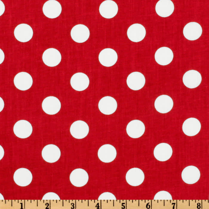 Forever Large Polka Dot Red