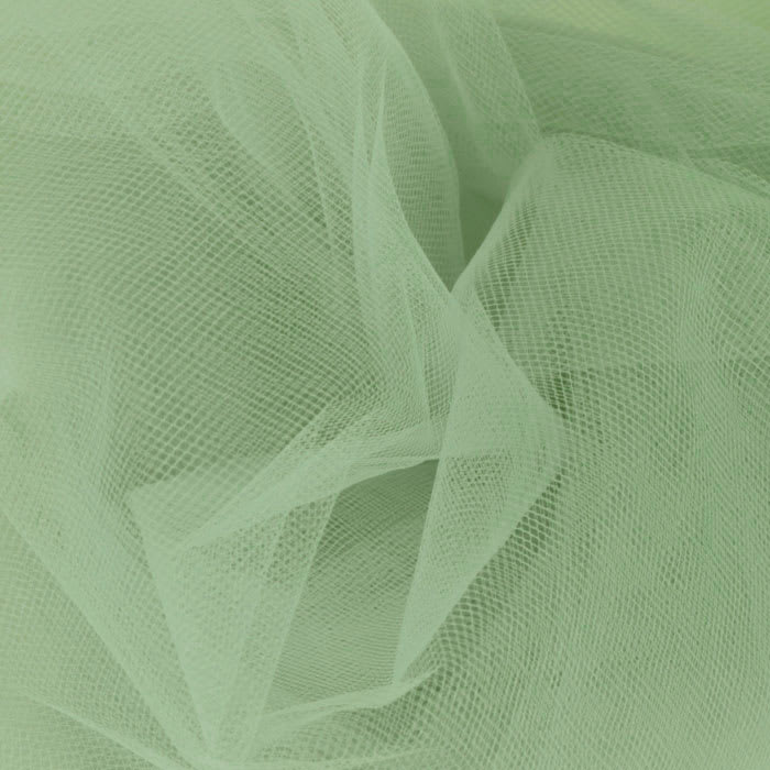 108'' Wide  Nylon Tulle Sage