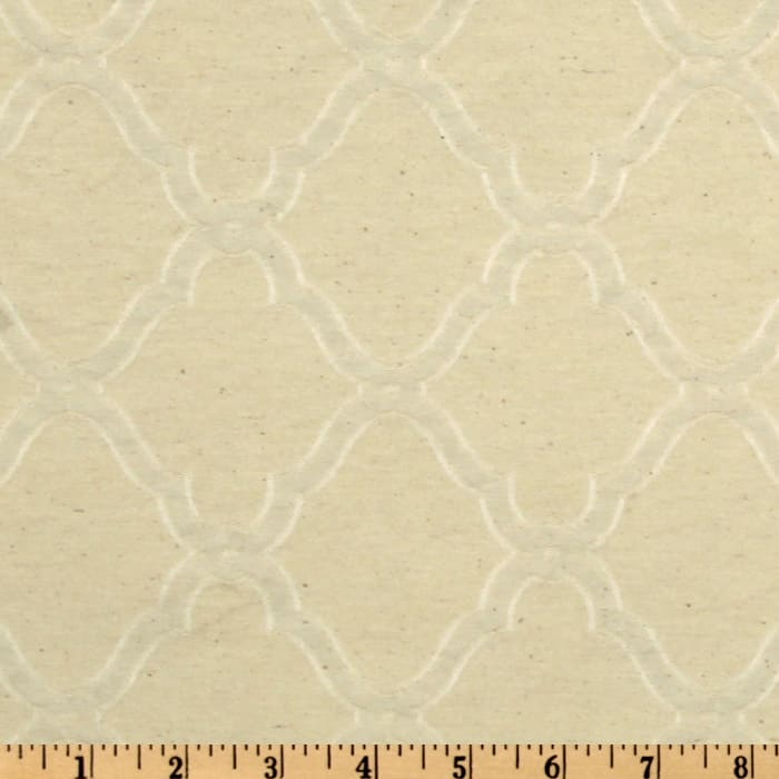 World Wide Naturally Washed Collection Serena Jacquard Natural
