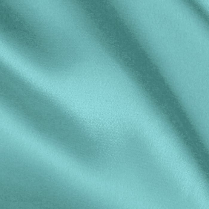 Stretch Charmeuse Satin Aqua