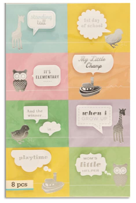 Martha Stewart Crafts Animal Icon Bubble Stickers
