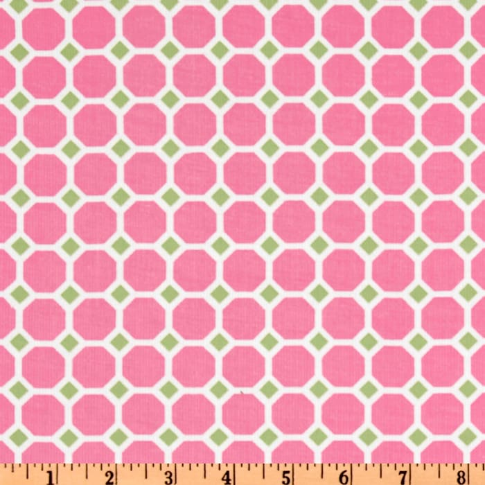 Kaufman 21 Wale Cool Cords Honeycomb Pink