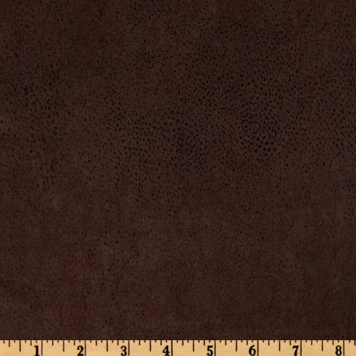 Bijoux Faux Leather Textured Brown