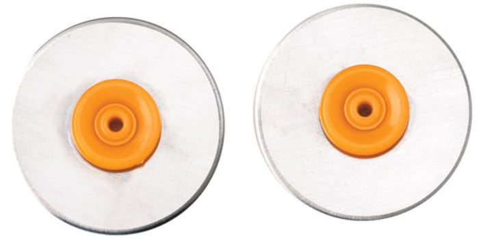 Fiskars 28mm Replacement Blades Straight 2 pack
