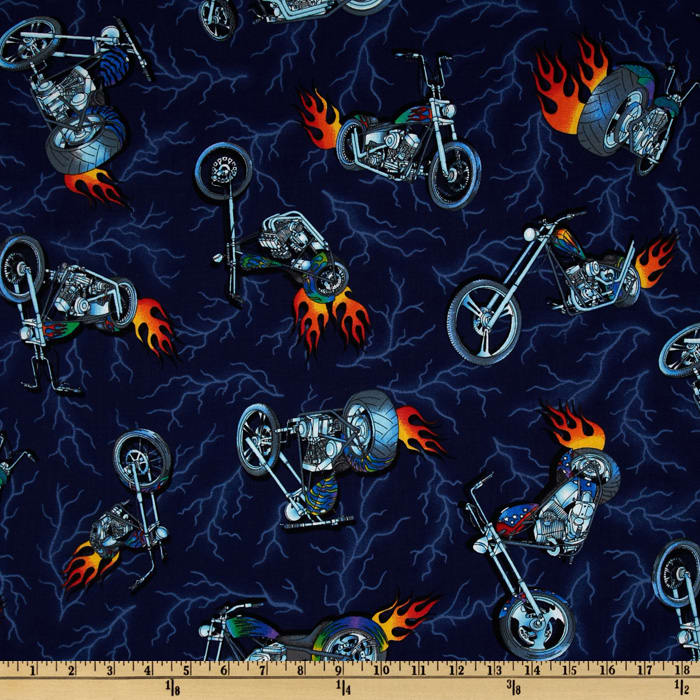 Motorcycles Navy