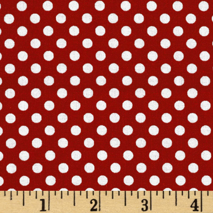 Spot On Mini Dots Red