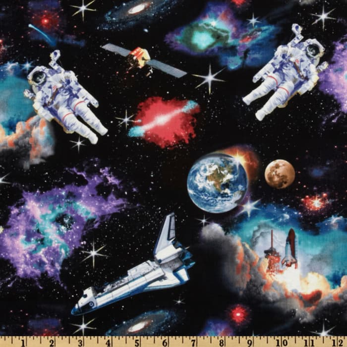 In Space Astronauts Black