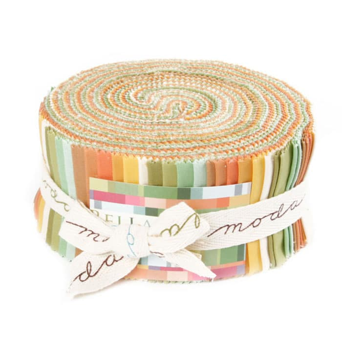 Moda Bella Solids 2.5'' Jelly Roll Warm