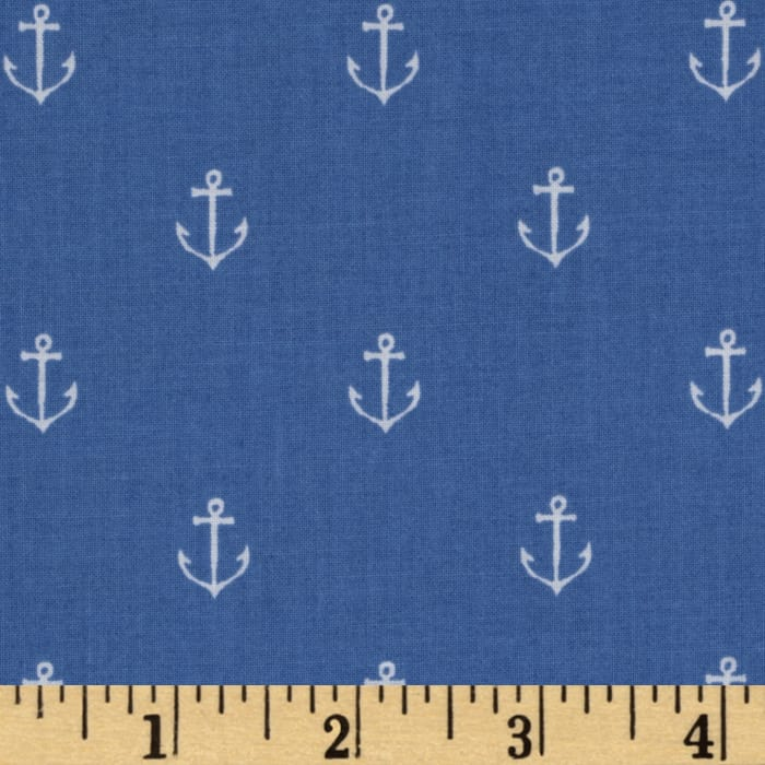 Michael Miller Out To Sea Anchors Away Boy Blue