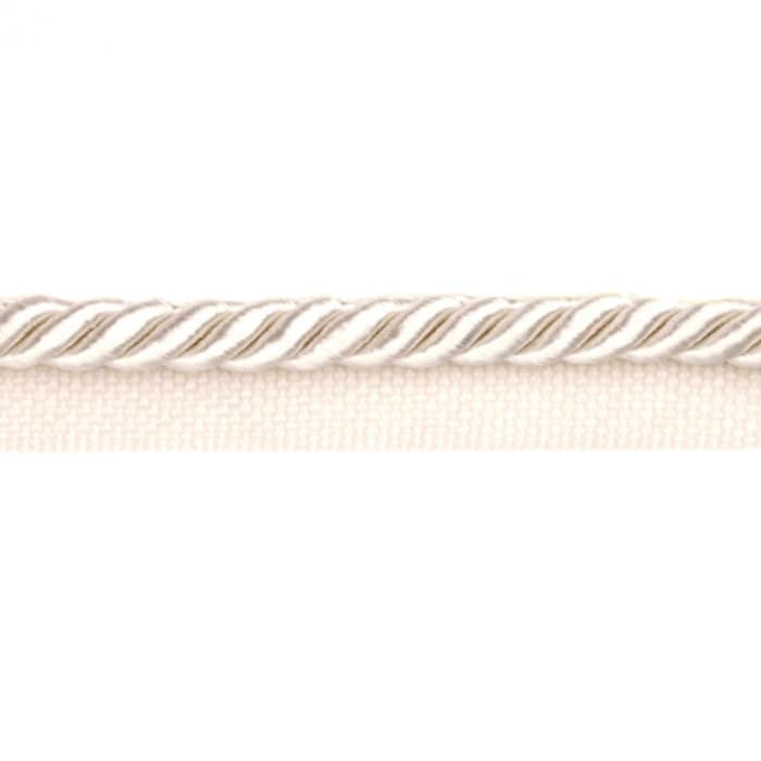 Expo 3/8'' Twisted Cord w/Lip Ivory