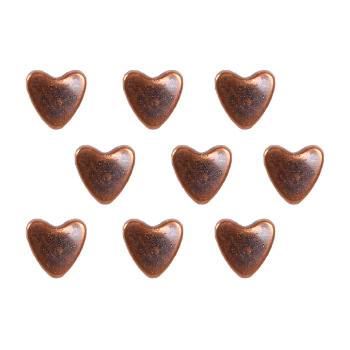 Copper Dome Heart 36pc