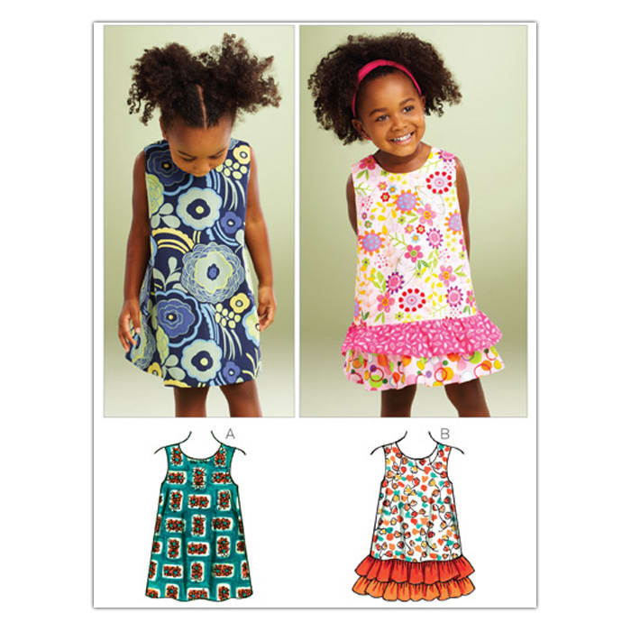 Kwik Sew Toddler A-line Dresses (3864) Pattern