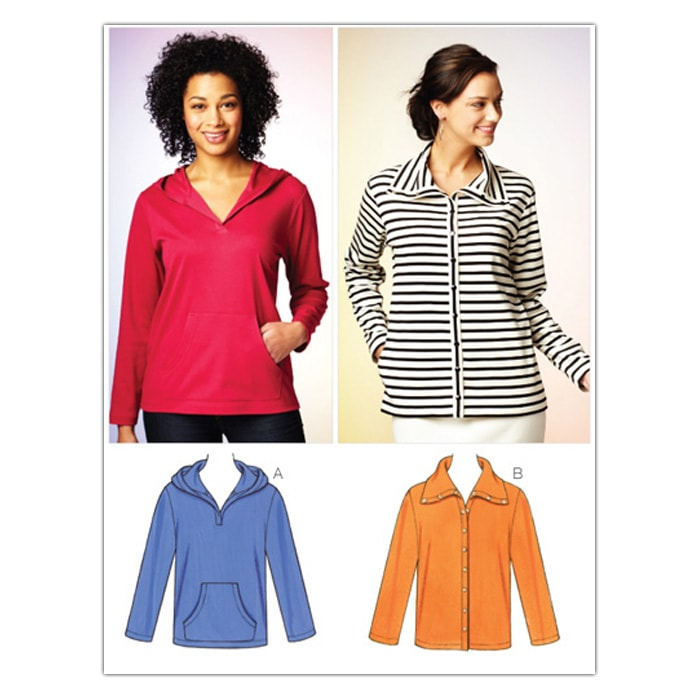 Kwik Sew Misses Jacket and Pullover (3879) Pattern