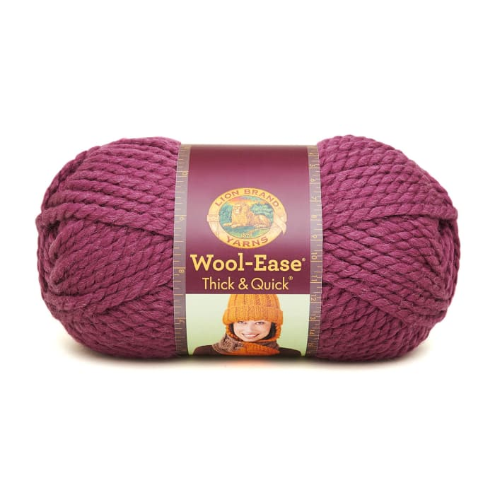 Lion Brand Wool-Ease Thick & Quick Yarn (146) Fig