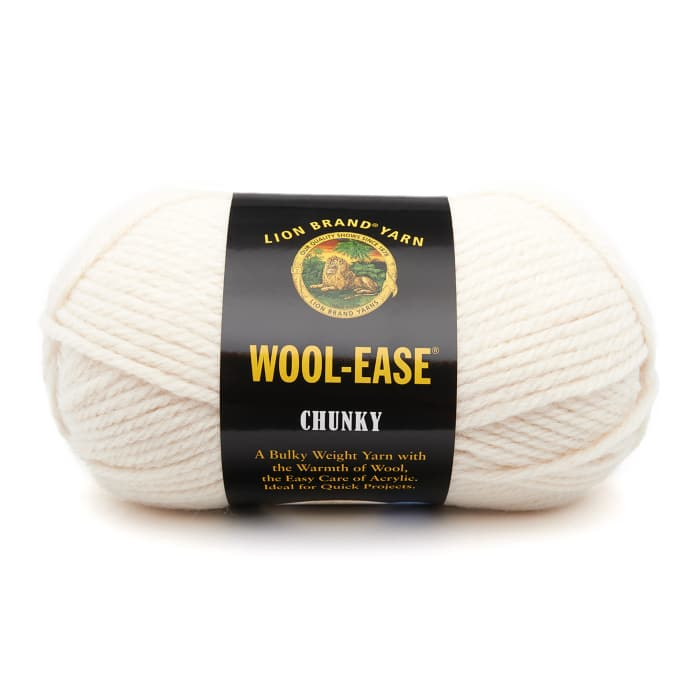 Lion Brand Wool-Ease Chunky Yarn (099) Fisherman