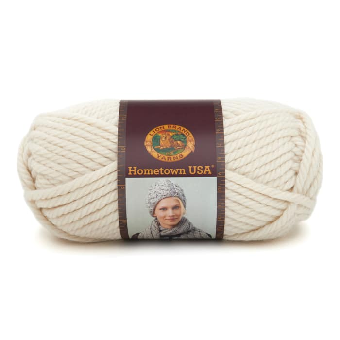 Lion Brand Hometown USA Yarn (098) Houston Cream