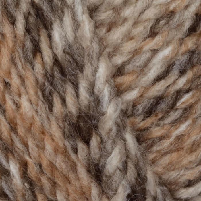 Lion Brand Tweed Stripes Yarn (204) Caramel