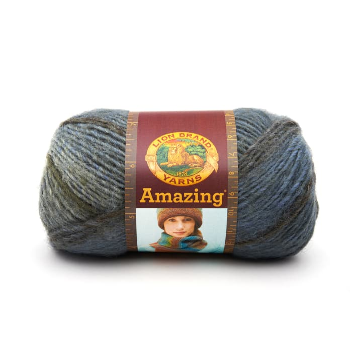 Lion Brand Amazing Yarn (205) Olympia