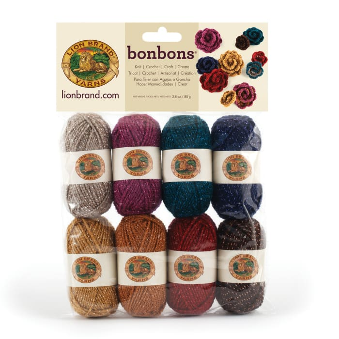 Lion Brand BonBons Yarn Pack Party