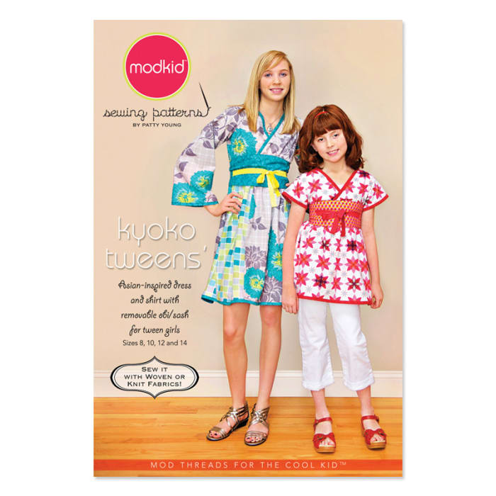 Modkid Kyoko Dress & Top Tweens Pattern