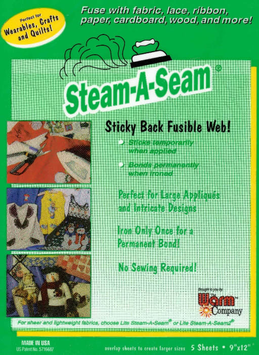 Steam-A-Seam Sticky Back Fusible Web