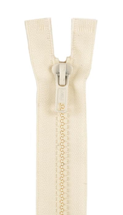 "Sport Separating Zipper 14"" Natural"