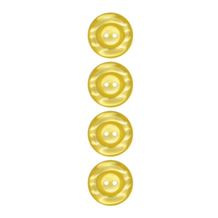 """Riley Blake Sew Together 1"""" Pearl Button Yellow"""