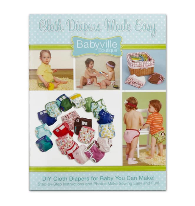Babyville Boutique Book Cloth Diapers Made Easy