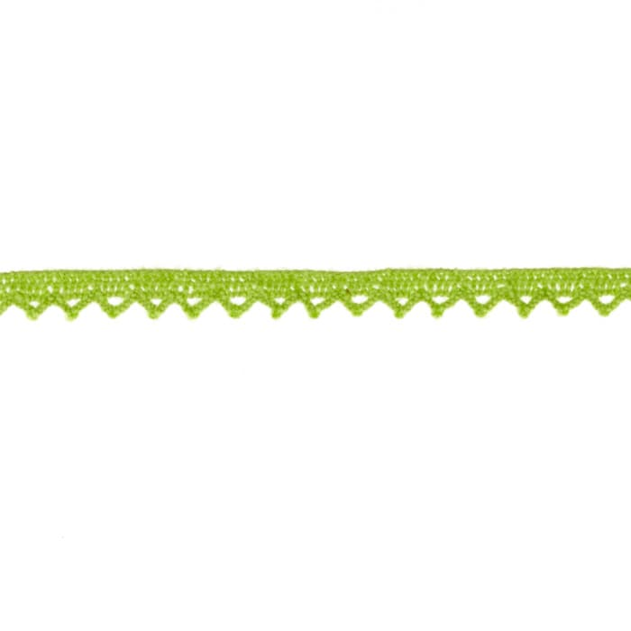 "Riley Blake Sew Together 1/4"" Crocheted Lace Trim Lime"