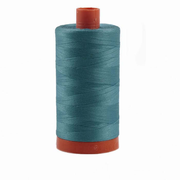 Aurifil Quilting Thread 50wt Medium Turquoise