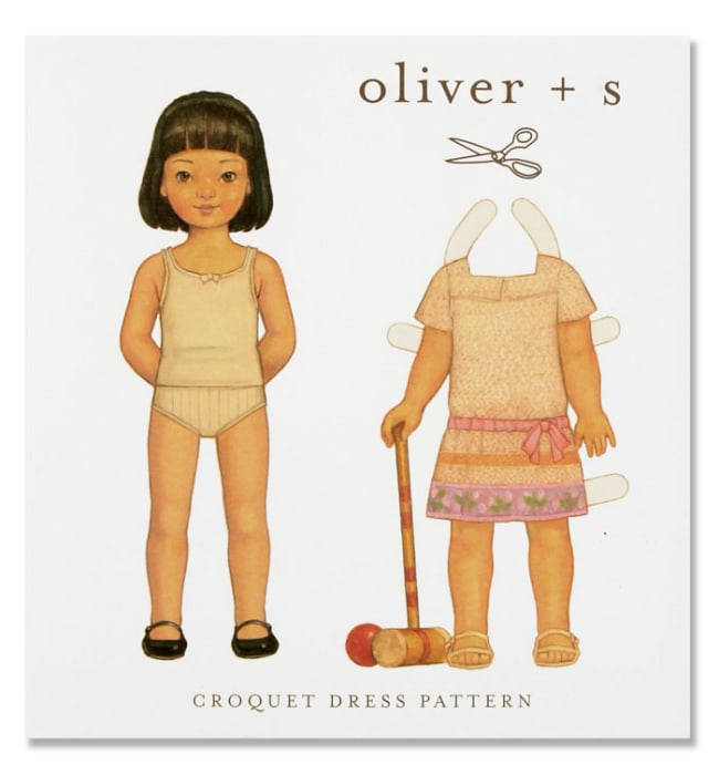 Oliver + S Croquet Dress Pattern Sizes 5-12