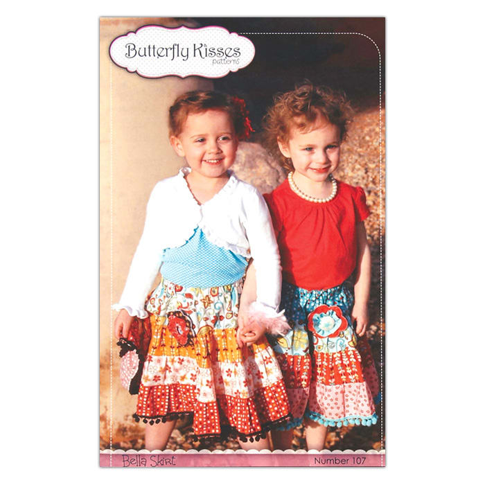 Butterfly Kisses Bella Skirt Pattern Booklet