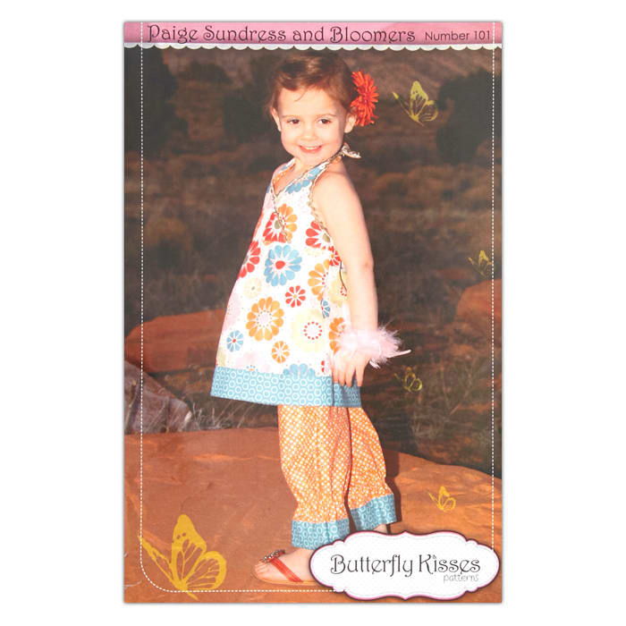 Butterfly Kisses Paige Sundress & Bloomers Pattern