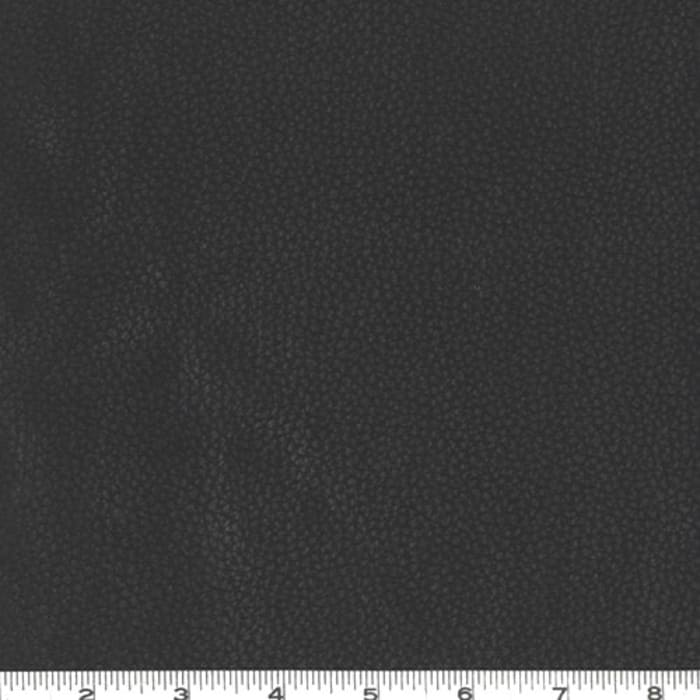 Faux Leather Fabric Pigskin Black