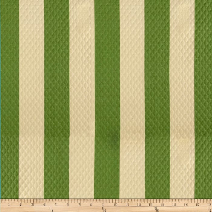 Waverly Sun N Shade Quilted Solstice Stripe Cactus